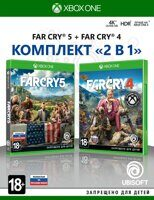 Игра Far Cry 4 + Far Cry 5 (XBOX One, русская версия)