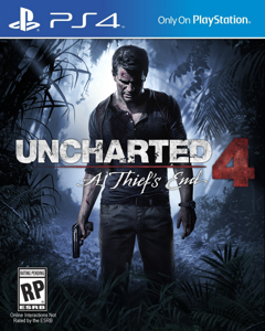 Игра Uncharted 4: A Thief's End (PS4, русская версия)