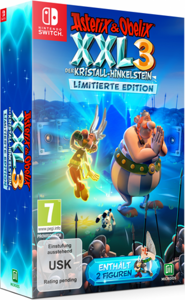 Игра Asterix & Obelix XXL 3 The Crystal Menhir Limited Edition (Nintendo Switch, русская версия)
