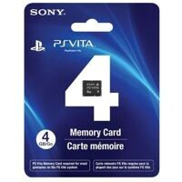Карта памяти Sony PS Vita Memory Card 4GB