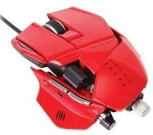 Проводная мышь Mad Catz R.A.T.5 Gaming Mouse (Red) (PC)