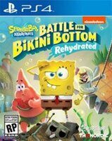 Игра Sponge Bob SquarePants Battle For Bikini Bottom Rehydrated (PS4, русская версия)