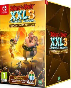 Игра Asterix & Obelix XXL 3 The Crystal Menhir Collectors Edition (Nintendo Switch, русская версия)