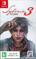 Игра Syberia 3 (Nintendo Switch, русская версия)