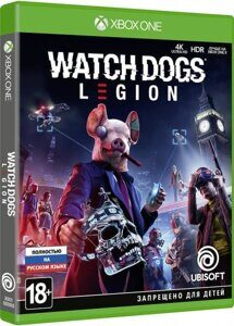 Игра Watch Dogs: Legion (XBOX One, русская версия)