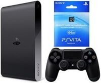 Sony PlayStation TV + контроллер Sony DualShoсk 4 + PS Vita Memory Card 64GB + 3 игры