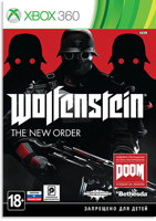 Игра Wolfenstein: The New Order (XBOX 360, русская версия)