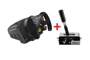 Руль Thrustmaster TS-PC Racer + ручной тормоз TSSH SEQUENTIAL SHIFTER & HANDBRAKE SPARCO