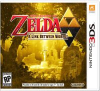 Игра The Legend of Zelda: A Link Between Worlds (3DS)