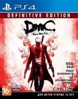 Игра Devil May Cry: Definitive Edition (DmC) (PS4, русская версия)