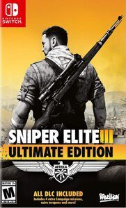 Игра Sniper Elite 3 Ultimate Edition (Nintendo Switch, русская версия)