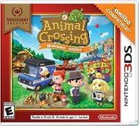 Игра Animal Crossing: New Leaf Welcome amiibo + Бустер 1 карт (3DS)