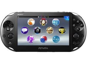 Sony PS Vita 2000 (Slim) Wi-Fi (Черный)