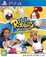 Игра Rabbids Invasion (PS4, русская версия)