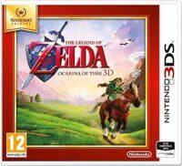 Игра Nintendo Selects The Legend of Zelda: Ocarina of Time (3DS)