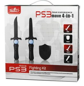 Набор 4 в 1 Fighting Kit для PS Move (PS3)