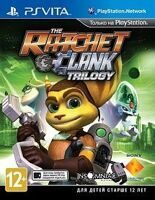 Игра Ratchet & Clank Trilogy (PS Vita)