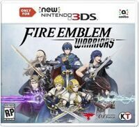 Игра Fire Emblem Warriors (3DS)