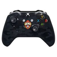 "Кастомизированный геймпад Microsoft Xbox One S Wireless Controller Bluetooth 3.5 ФК ЦСКА ""Black Camo"" (XBOX ONE S)"