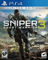 Игра Sniper: Ghost Warrior 3 (Снайпер: Воин Призрак 3) (PS4, русская версия)