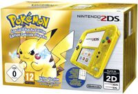 Nintendo 2DS (Желтая) + Pokemon Yellow