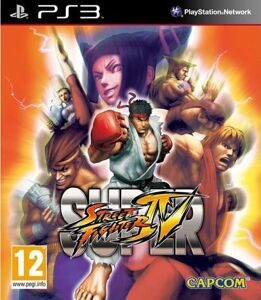Игра Super Street Fighter 4 (PS3)